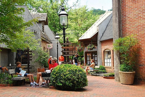 The Village Shops in Gatlinburg are quite lovely. Photo courtesy of faungg's photo via  Flickr .