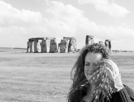 crazy wind at stonehenge