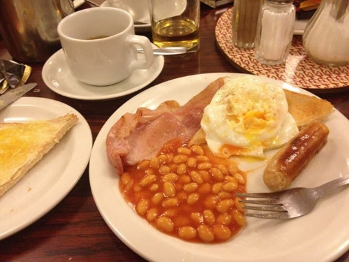Barry House London breakfast