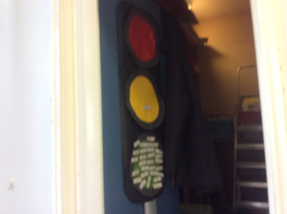 Our Behaviour Traffic Light