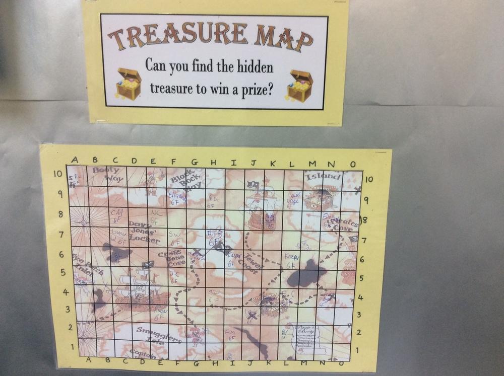 If we work hard we get a piece of treasure