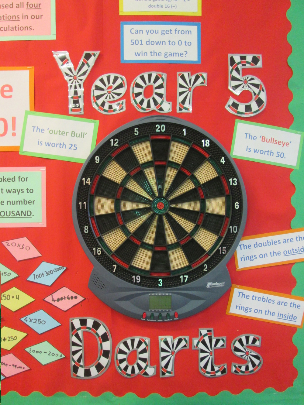 Maths Darts
