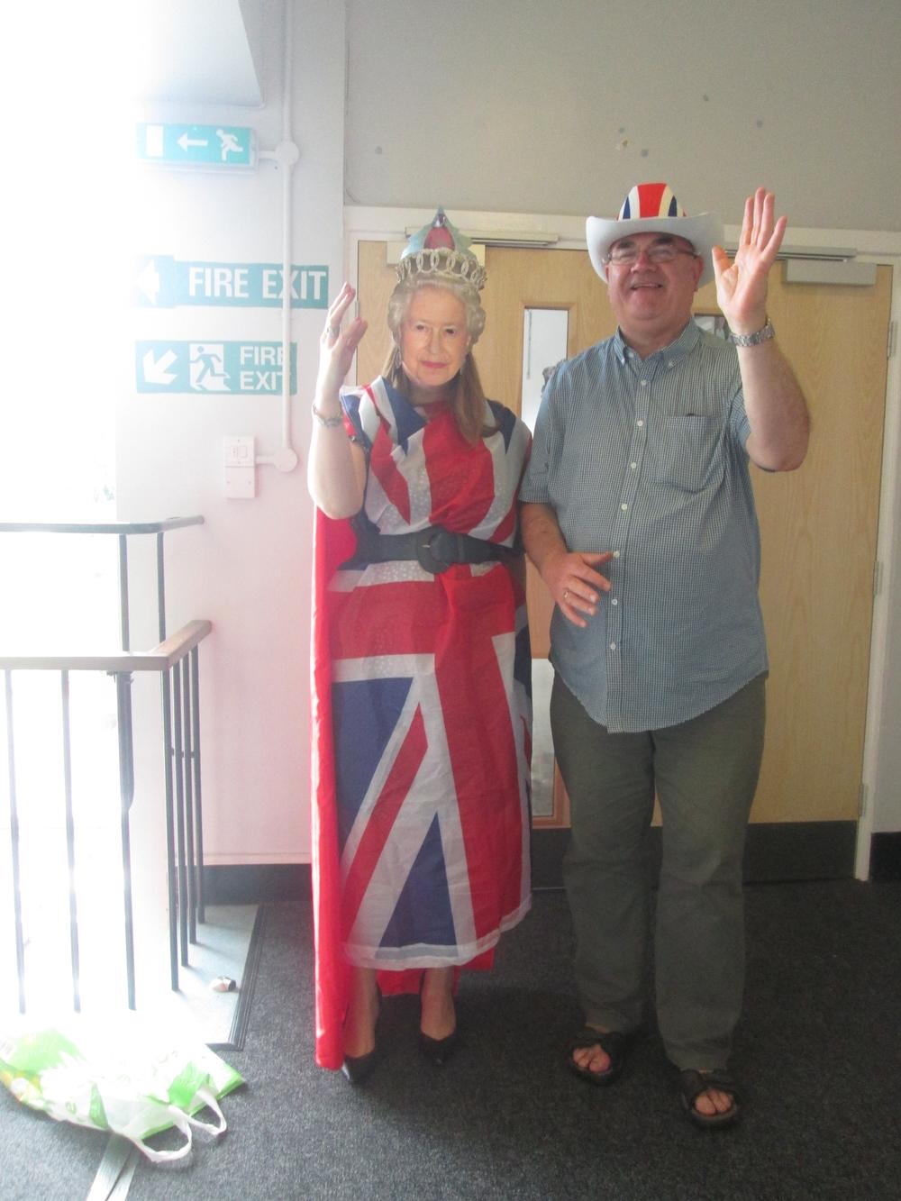Queen Visits.JPG