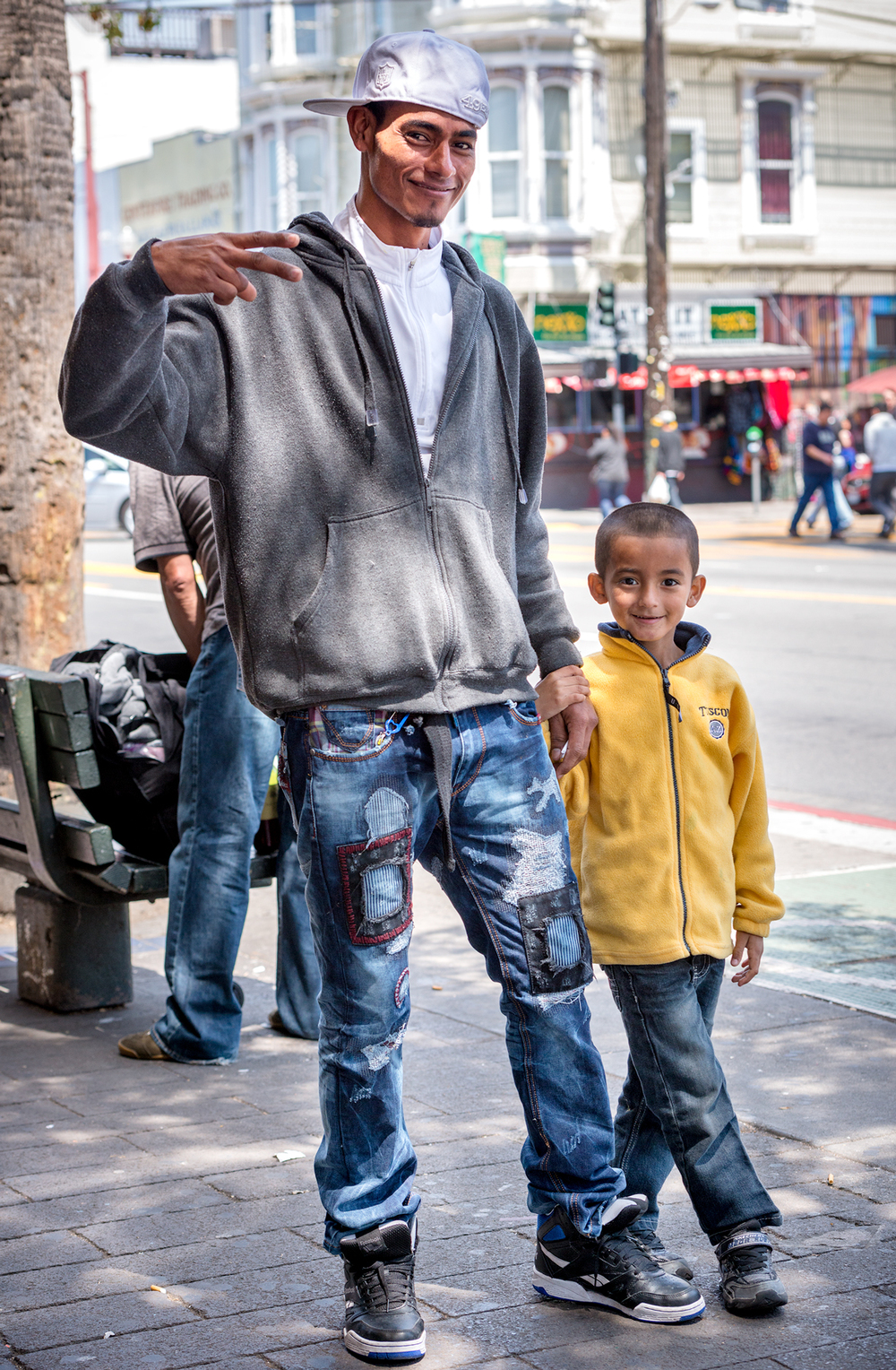 Street style is a family affair in the Mission