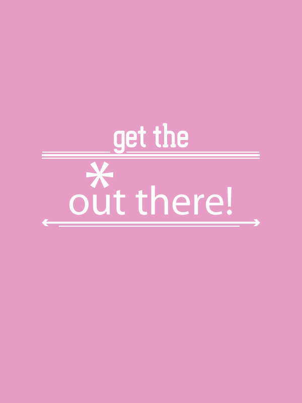 the BIZ-school for creatives blog 'get the * out there', why you need to take risks!Read the full blog post at www.kerstinpressler.com