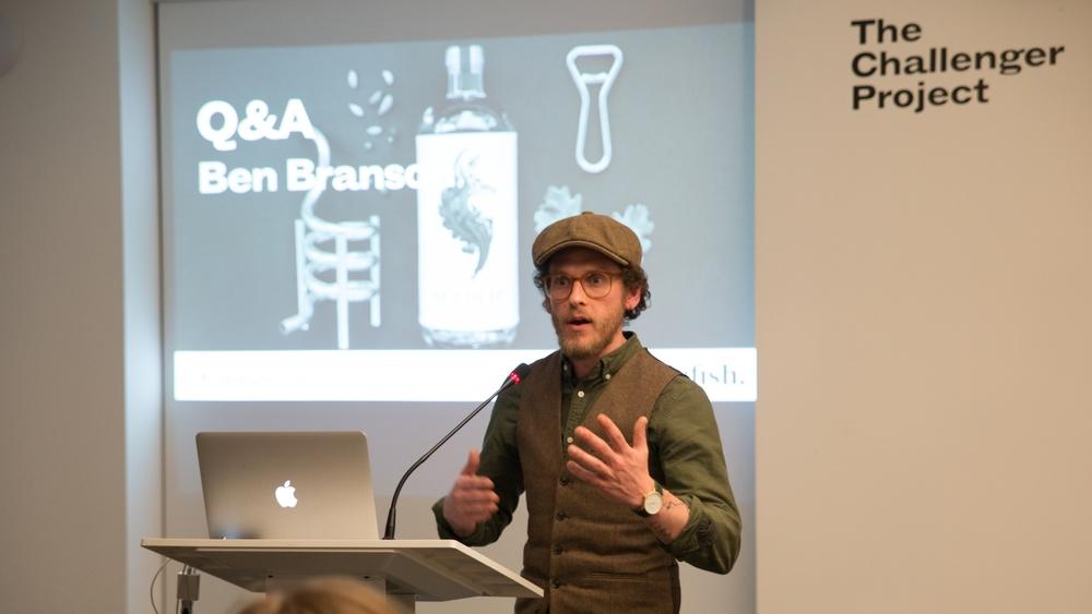 Ben Branson, founder of Seedlip