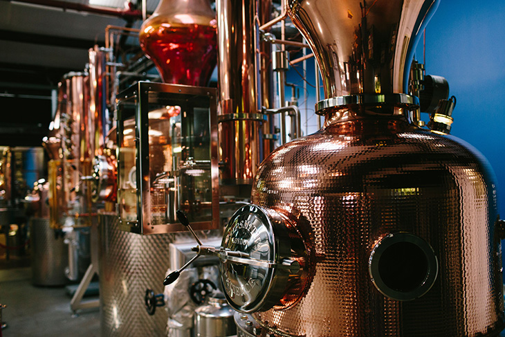 Prudence, Patience and Constance. Photo: Sipsmith