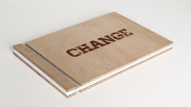 The Change Book. Photo: drbb.studio