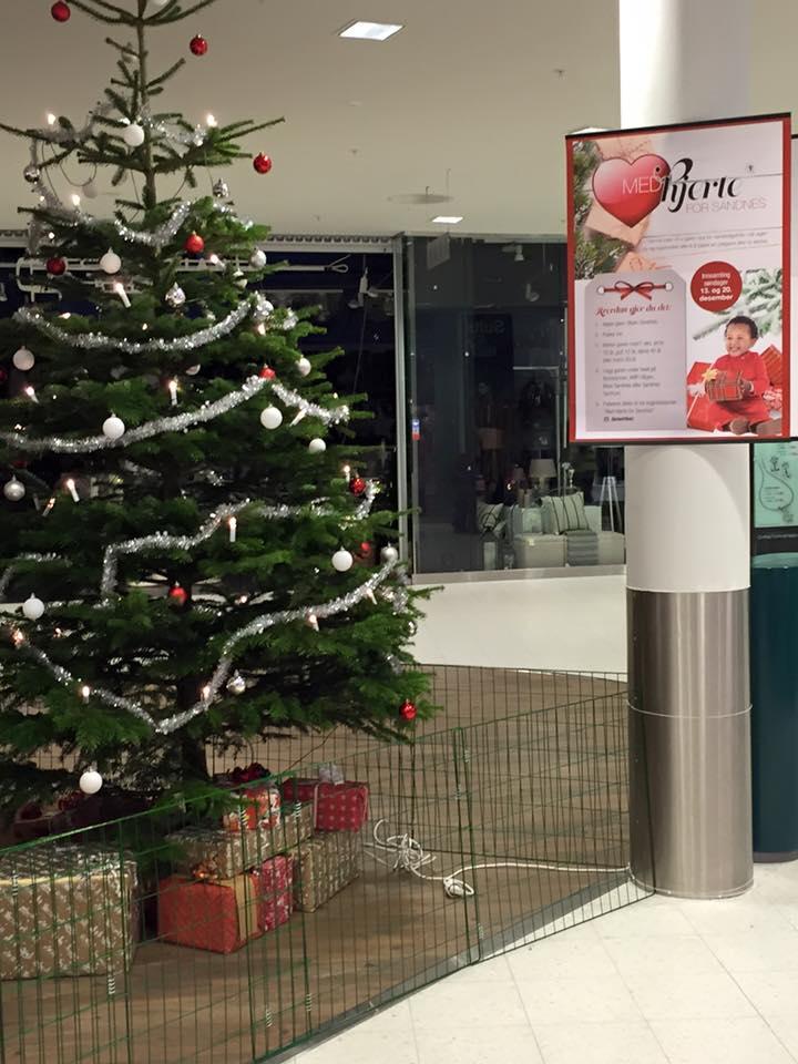 Julegaveinnsamling på byens kjøpesentre