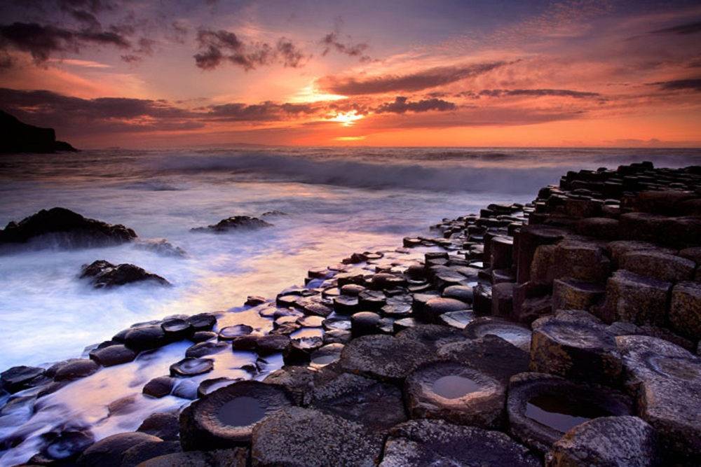 The Giants Causeway - A UNESCO World Heritage Site