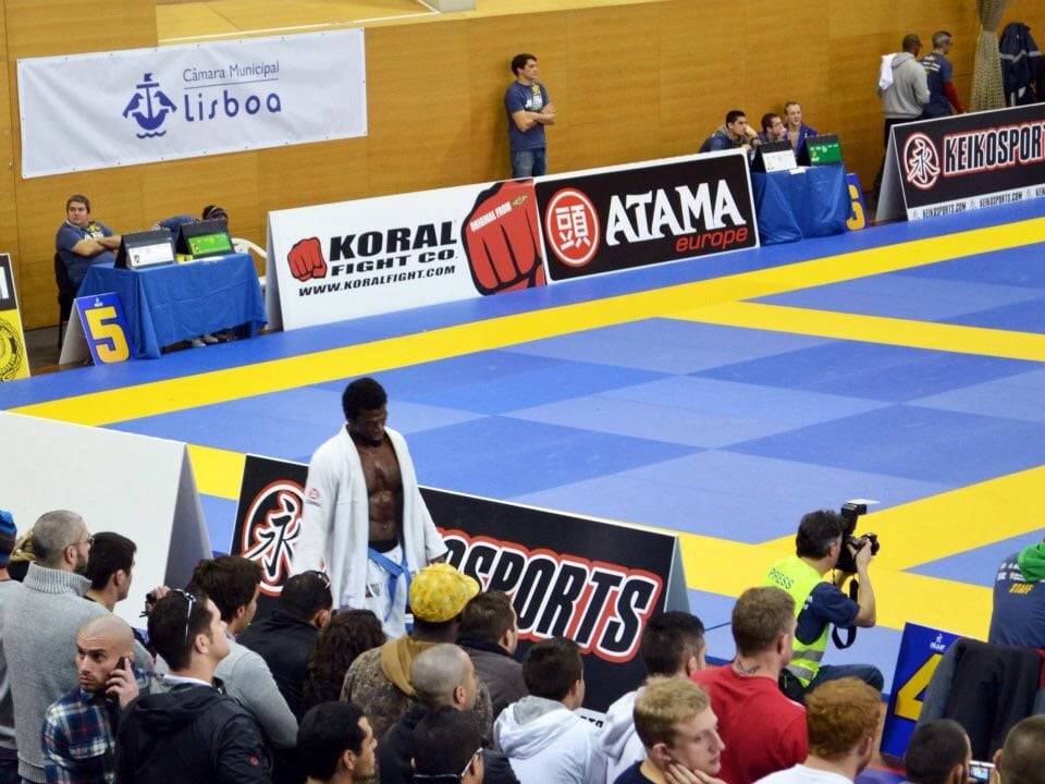 Flashback, Lisbon BJJ European Championship 2012...