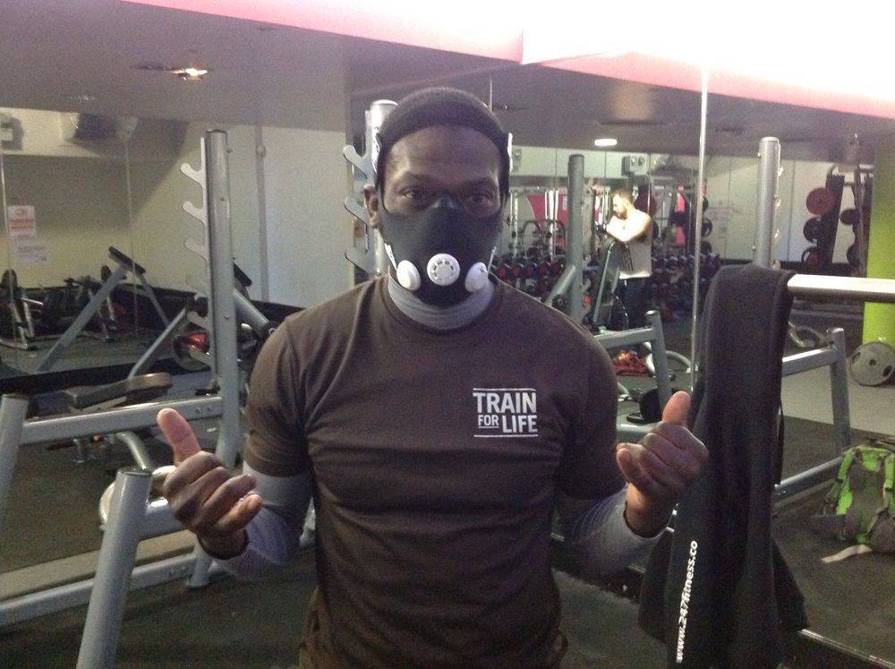 I had the altitude mask on set for 15000 ft, I could hardly talk, breath... I was light headed. Next week I will start working out with it starting at 3000ft and moving up... I am excited about the idea!