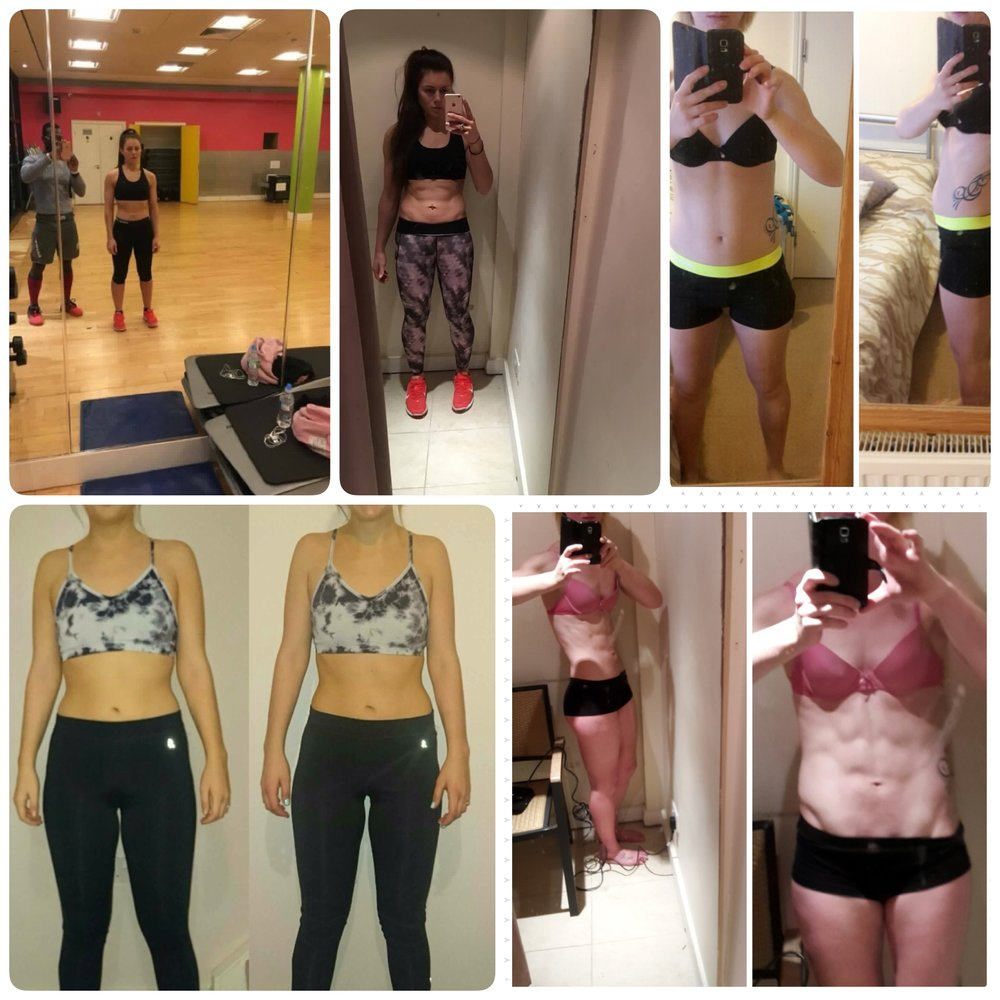 Top left Kirsten, bottom left Lilly and right Rachel, our Pre Xmas Challenge Winners.