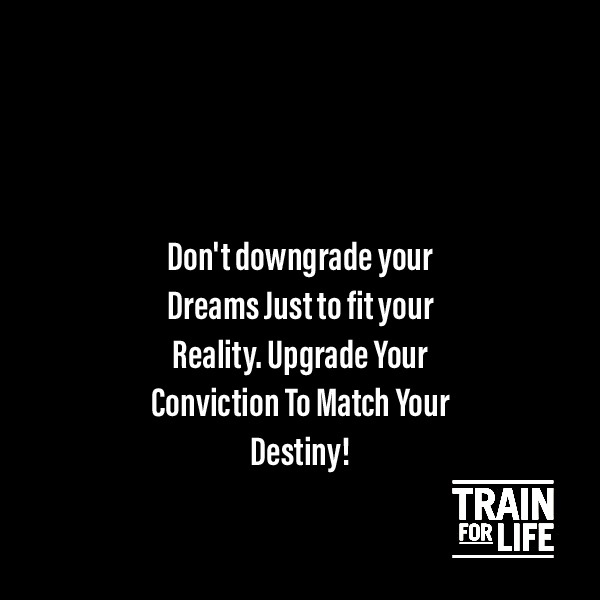 Quote Of The Week Train For Life