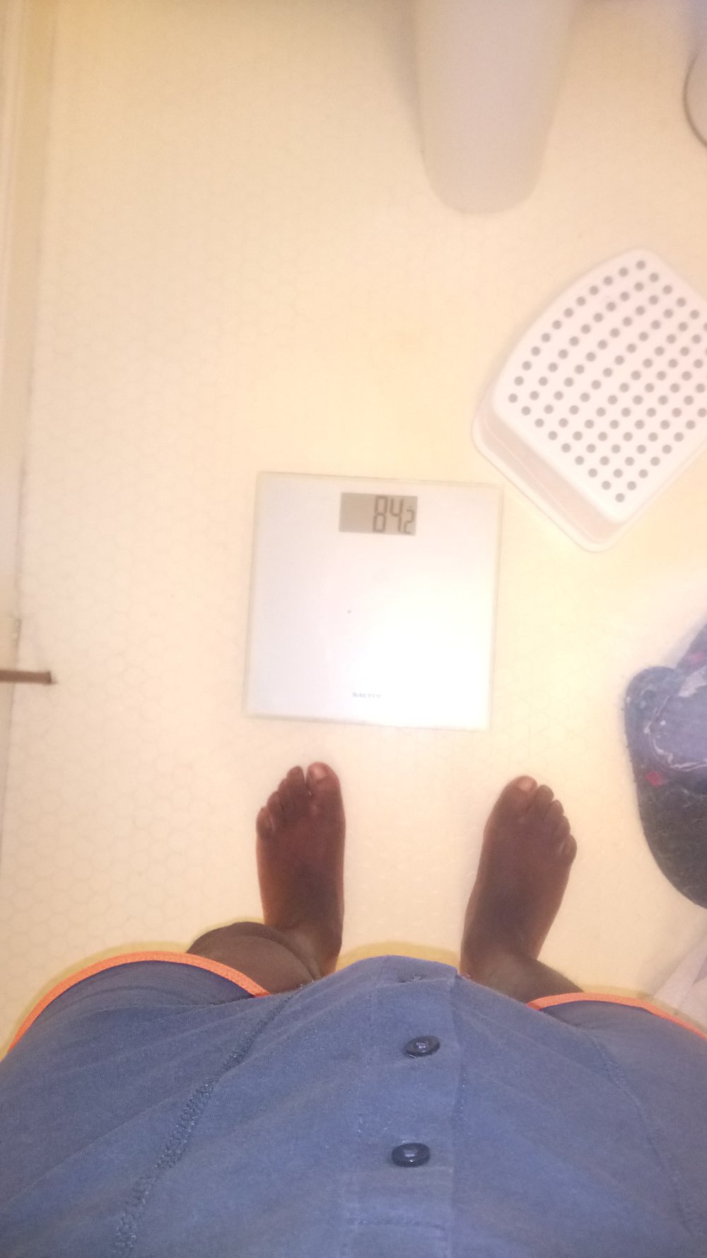 Lost 1.2kg in a week!!
