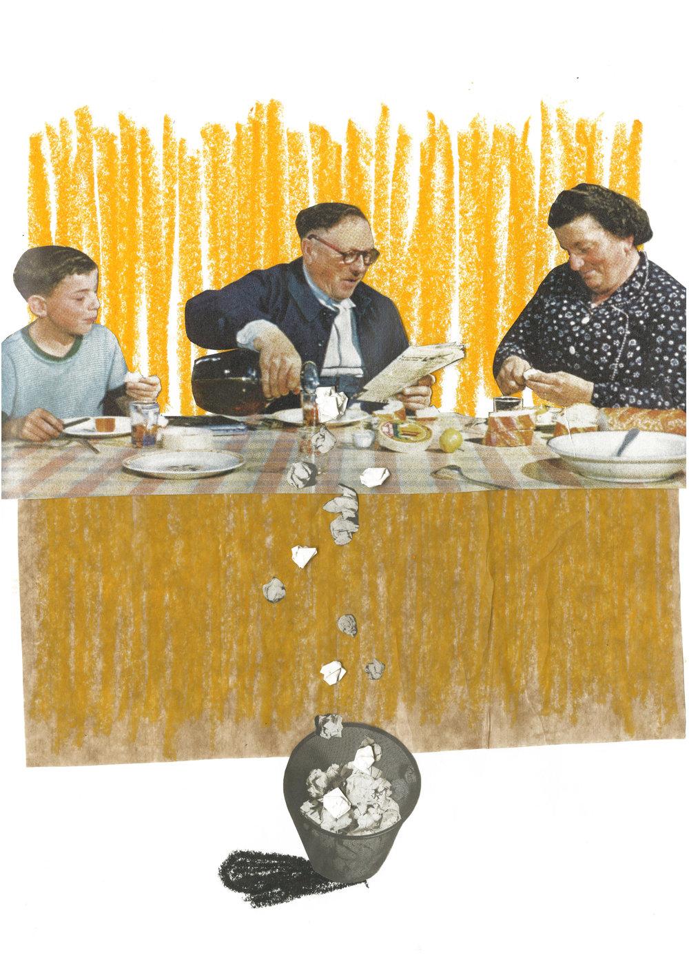 collage in original collors