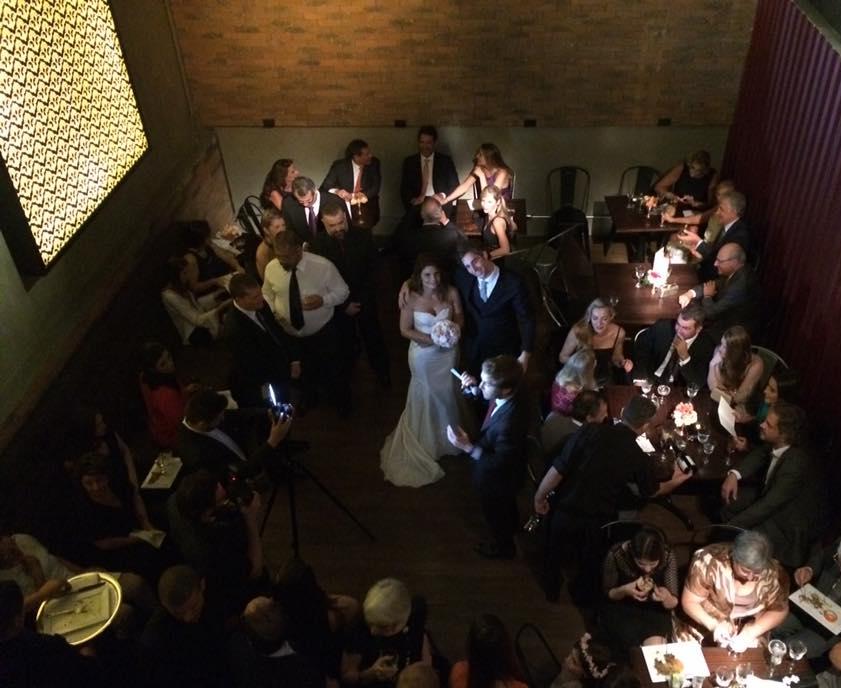 Mini-wedding.