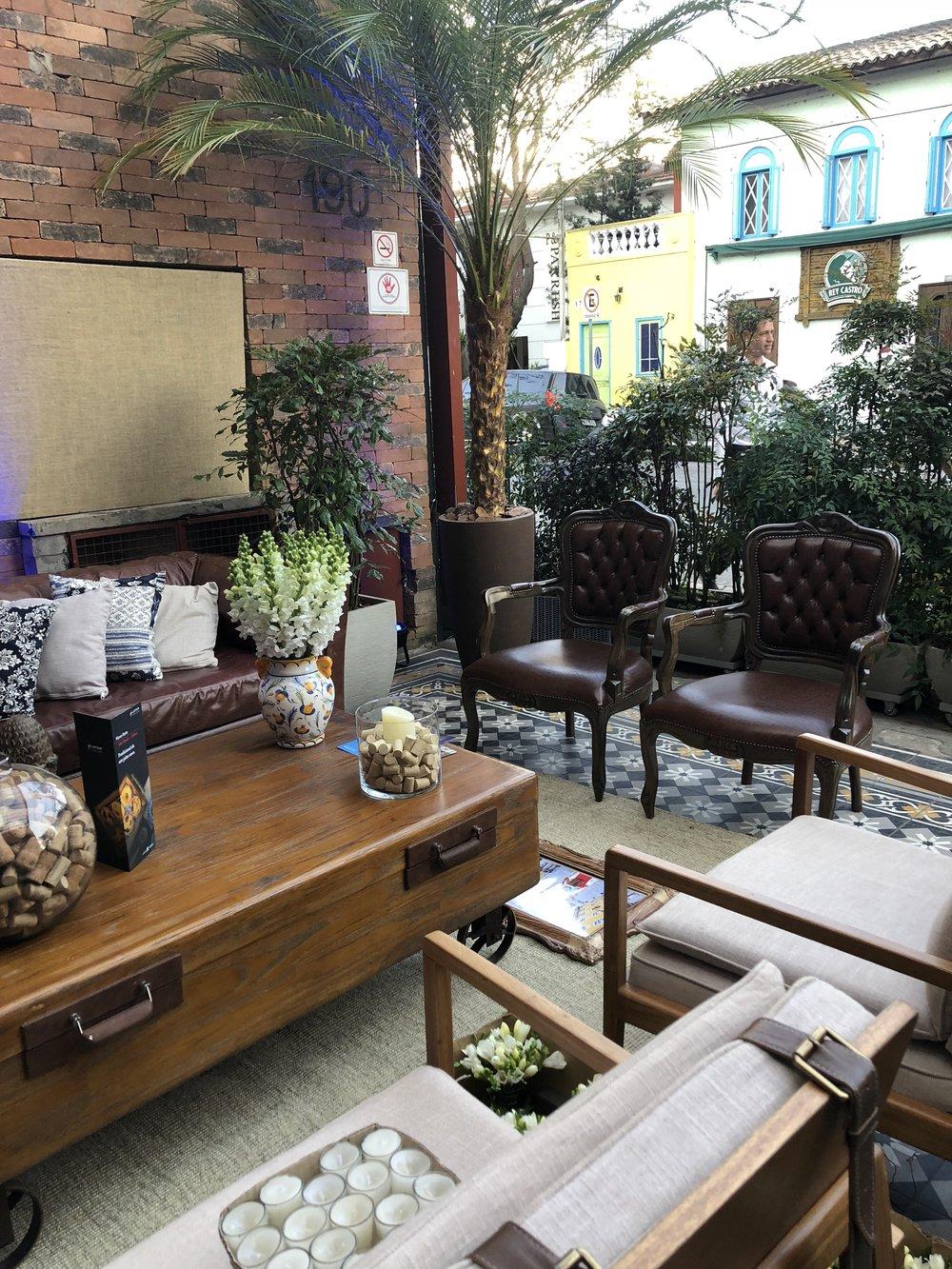 Lounge na varanda