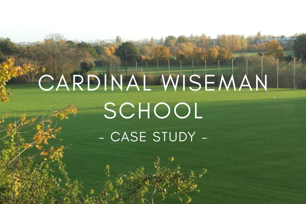 Portfolio - Cardinal Wiseman School Pitch Design & Construction