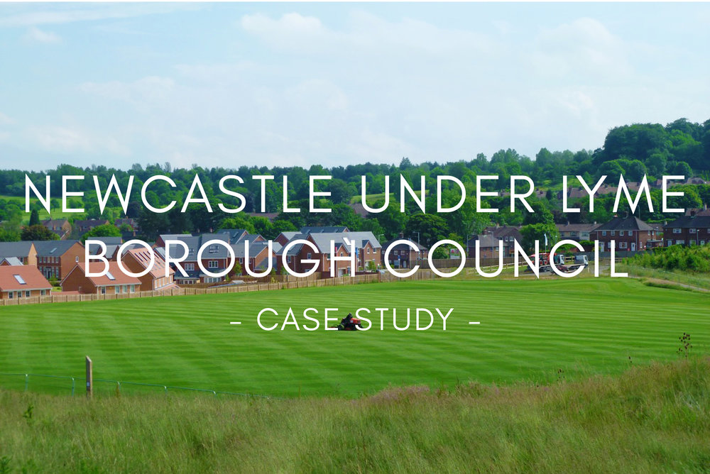 Portfolio - Newcastle Under Lyme Borough Council Sports Pitch Design & Construction