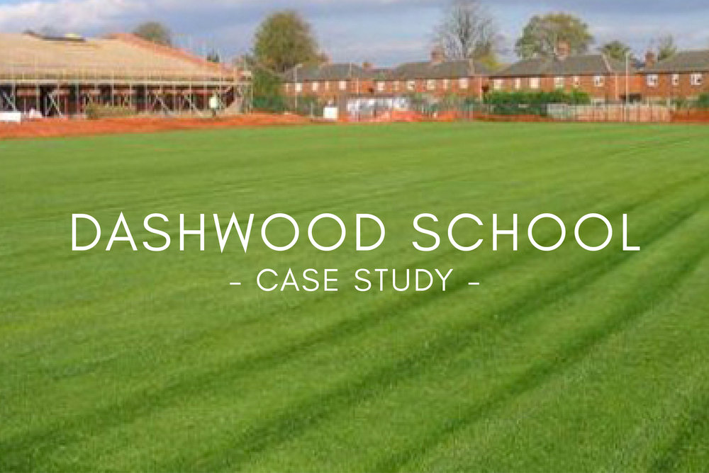 Portfolio - Dashwood School Sports Pitch Design & Construction