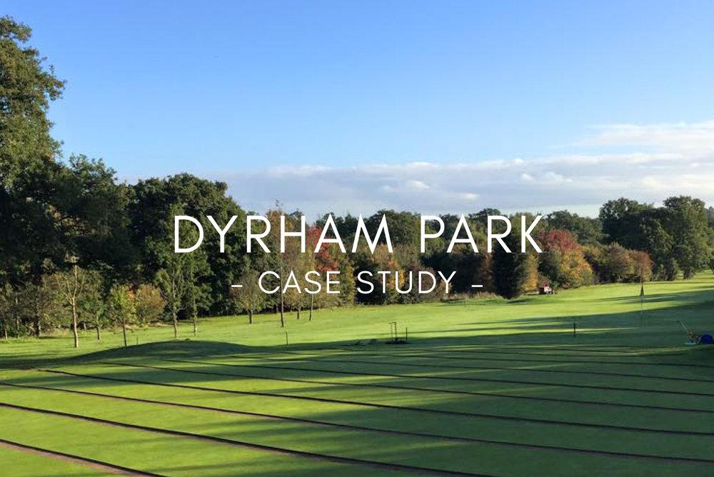 Case Study - Dyrham Park Golf Club