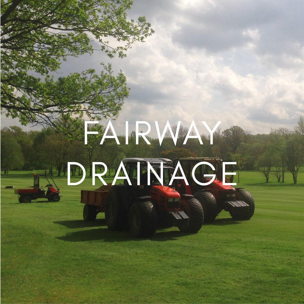 Fairway Drainage