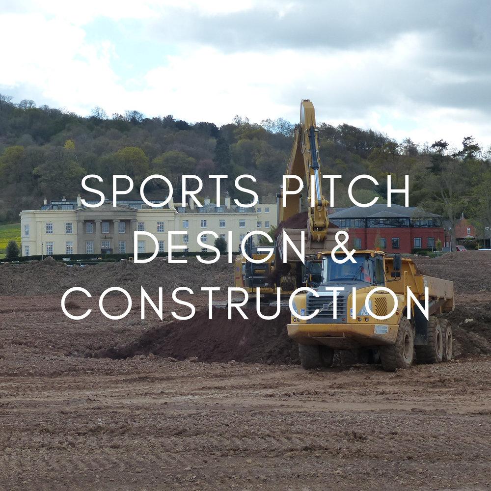 Portfolio - Sports Pitch Design & Construction
