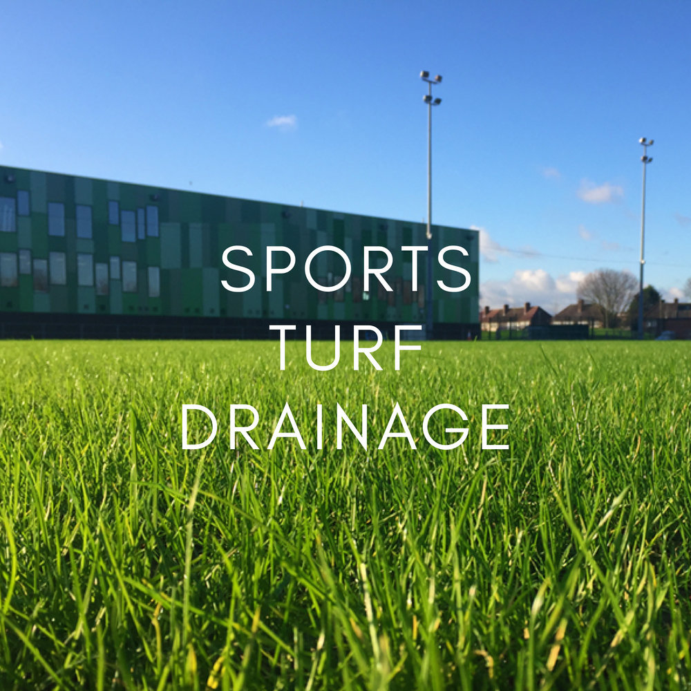 Portfolio - Sports Turf Drainage