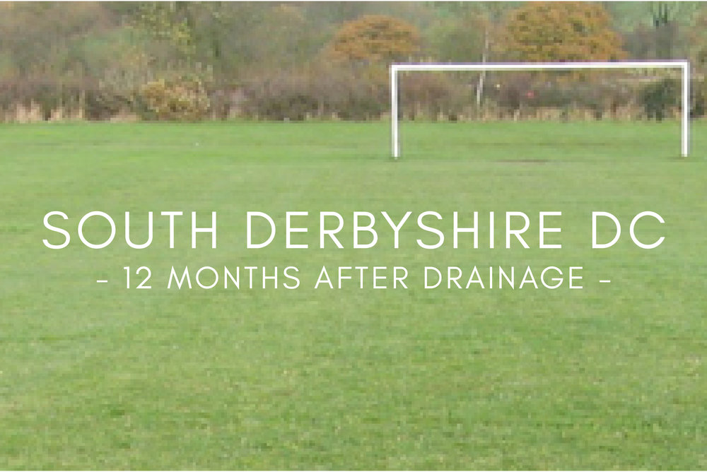 Football Pitch Drainage - After Drainage