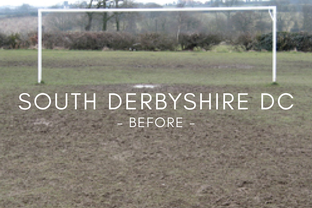 Football Pitch Drainage - Before Drainage