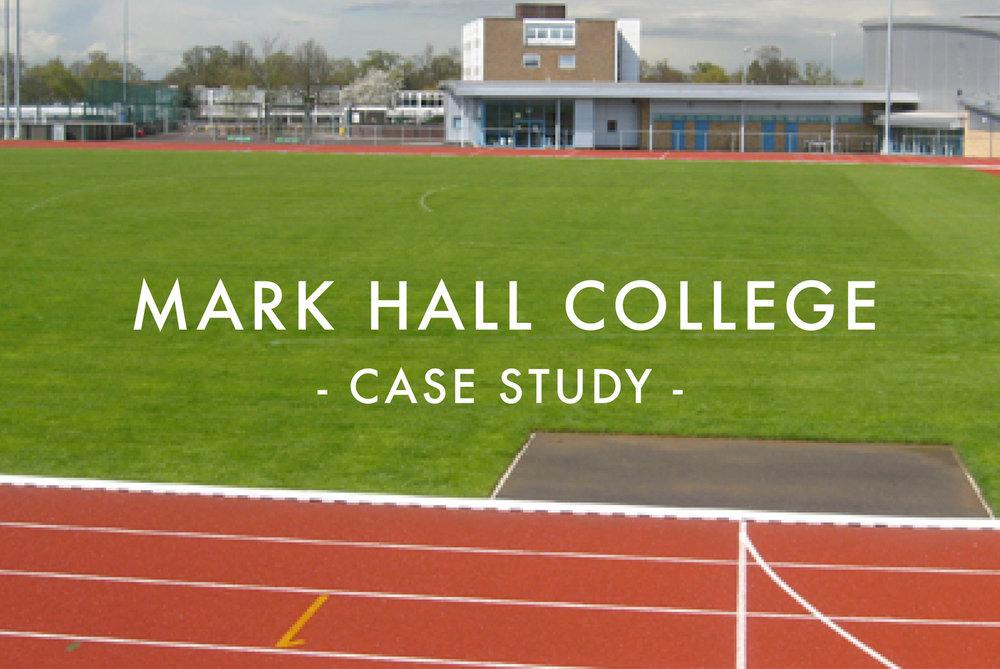 Mark Hall Specialist Sports College - Athletics Stadium Infield Re-Design & Reconstruction