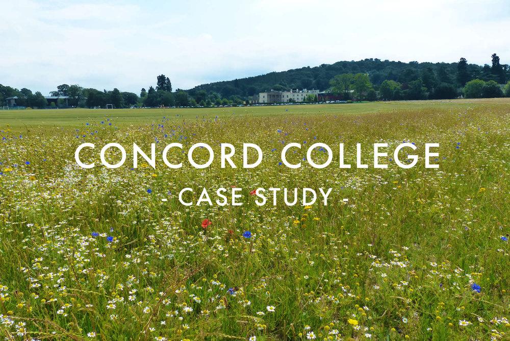 Concord College Case Study
