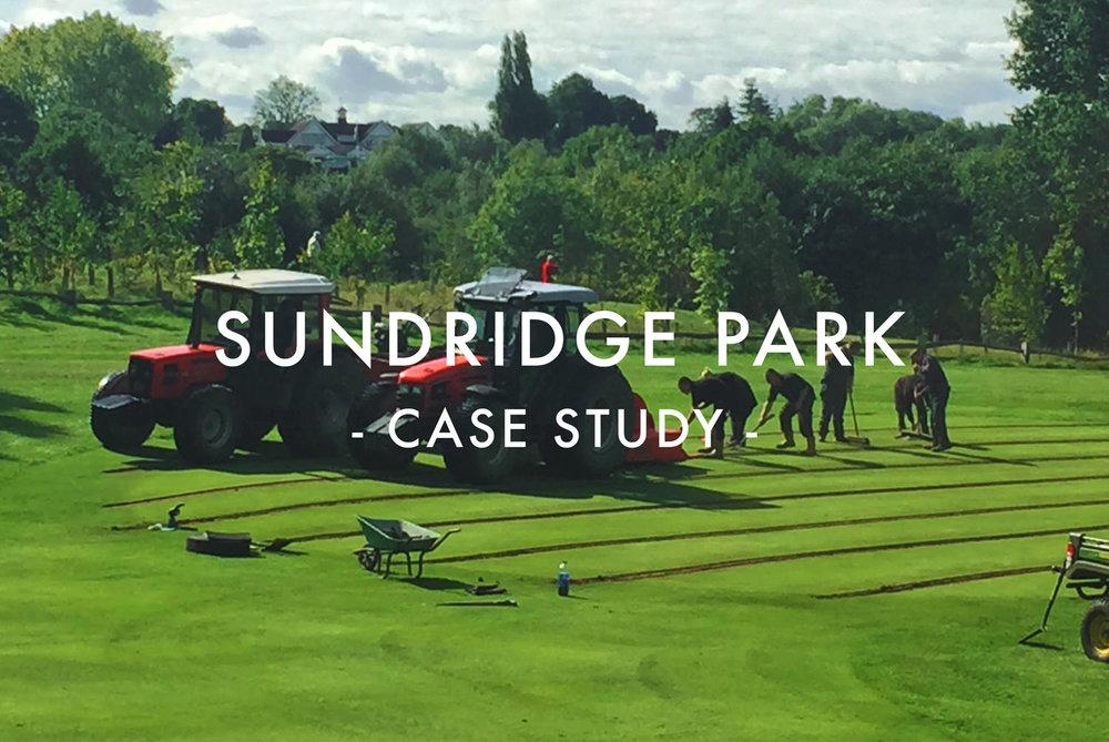 Sundridge Park Golf Club Greens Drainage Case Study