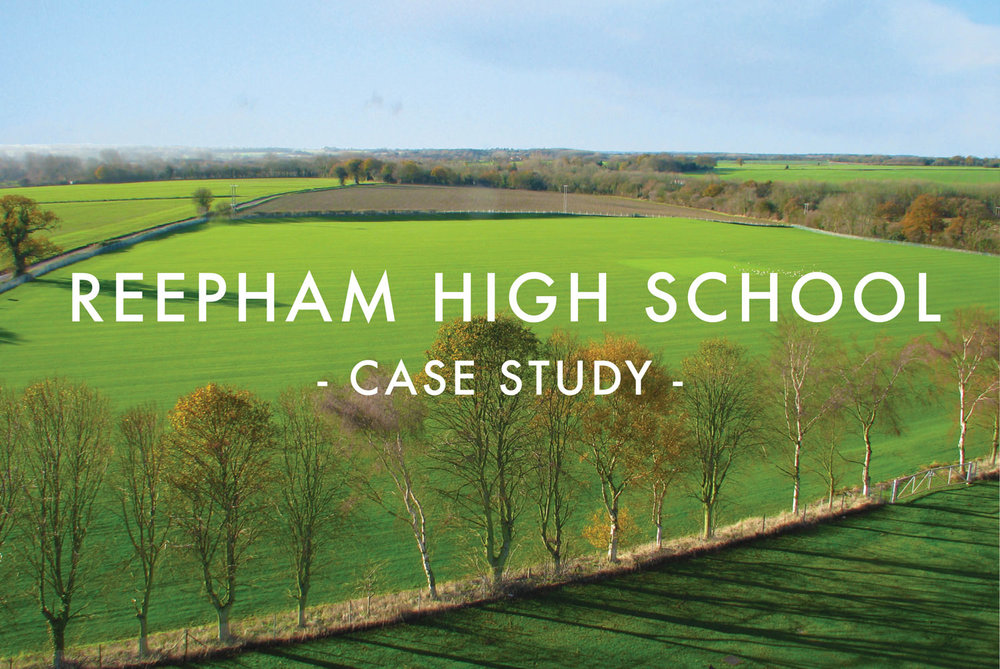 Reepham High School - Sports PItch Design & Construction Case Study