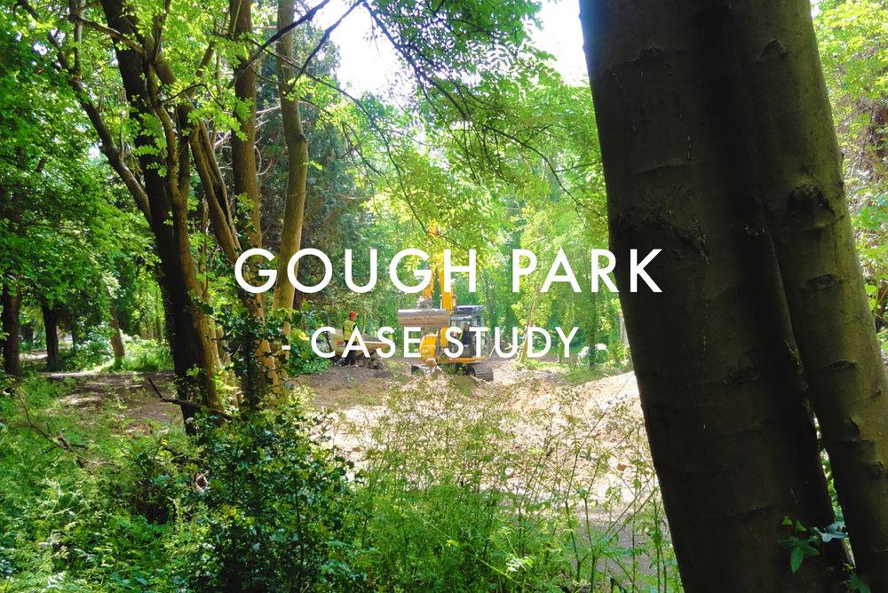 Gough Park - Flood Relief Scheme Case Study