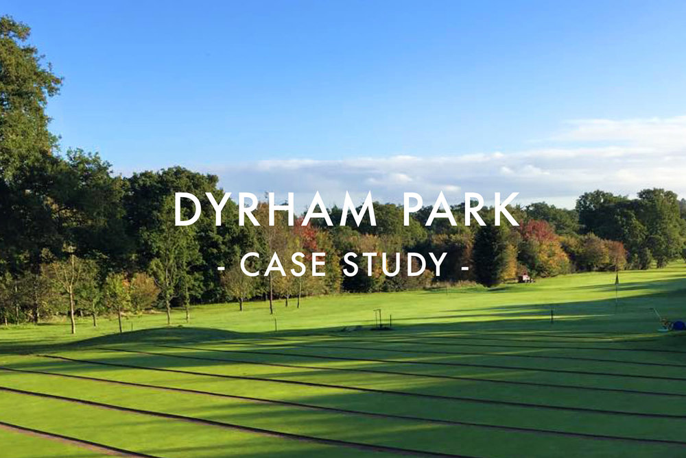 Dyrham Park Greens Drainage Case Study