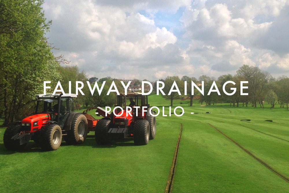 Fairway Drainage - Portfolio