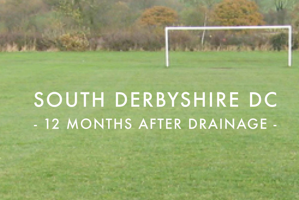 South Derbyshire DC - After Drainage