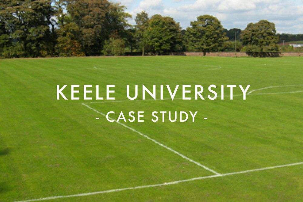 Keele University Sports Pitch Drainage Case Study