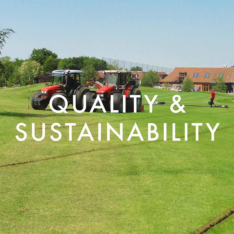 Quality & Sustainability Policy