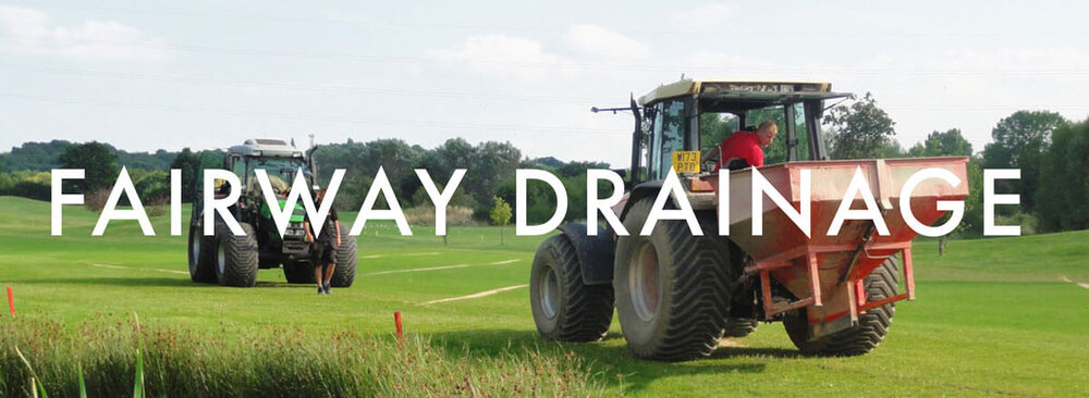 Golf Course Fairway Drainage