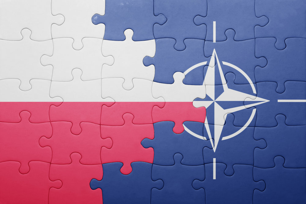 NATO on the map
