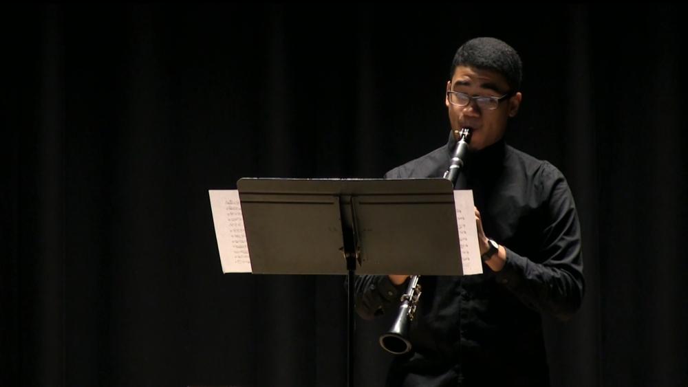 Dustin Chung, clarinet