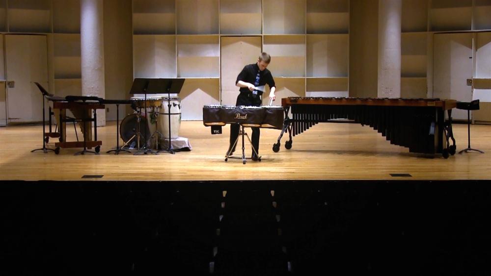 Matthew Mitchener, percussion