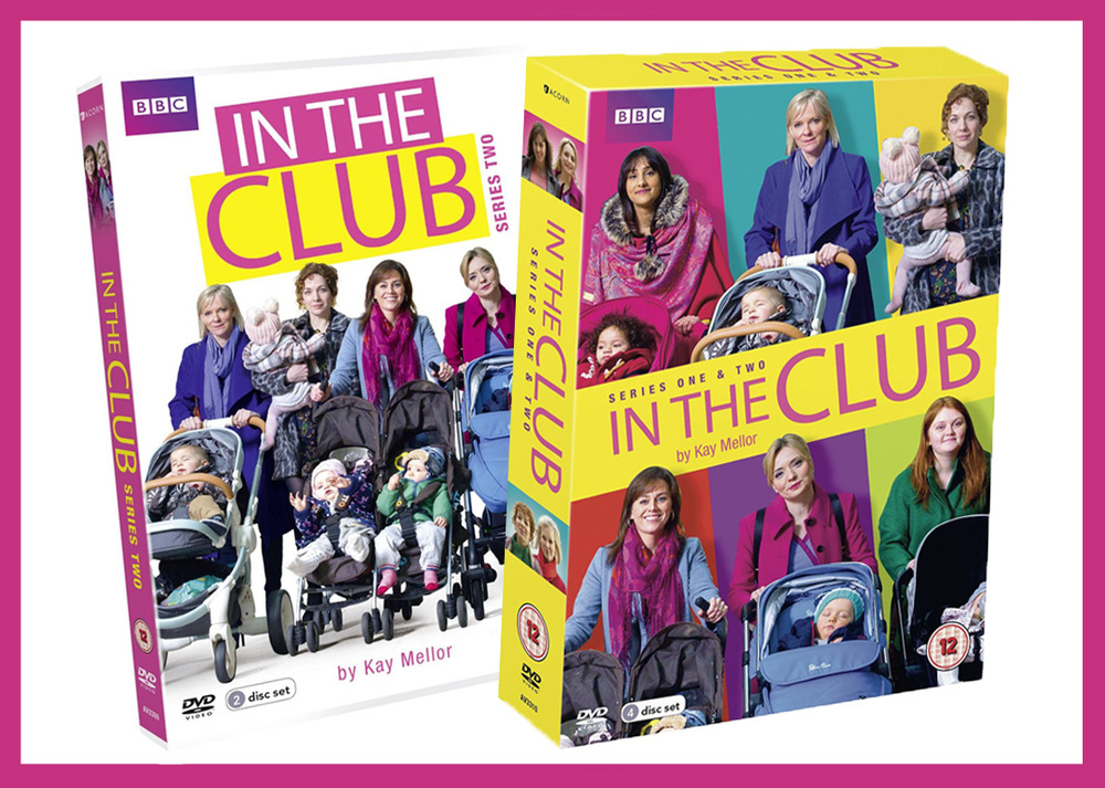 'In The Club' Series 2 and Series 1 & 2 boxset - On sale now!