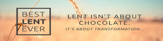 Click on the picture to receive your daily Lenten Meditations from Matthew Kelly.