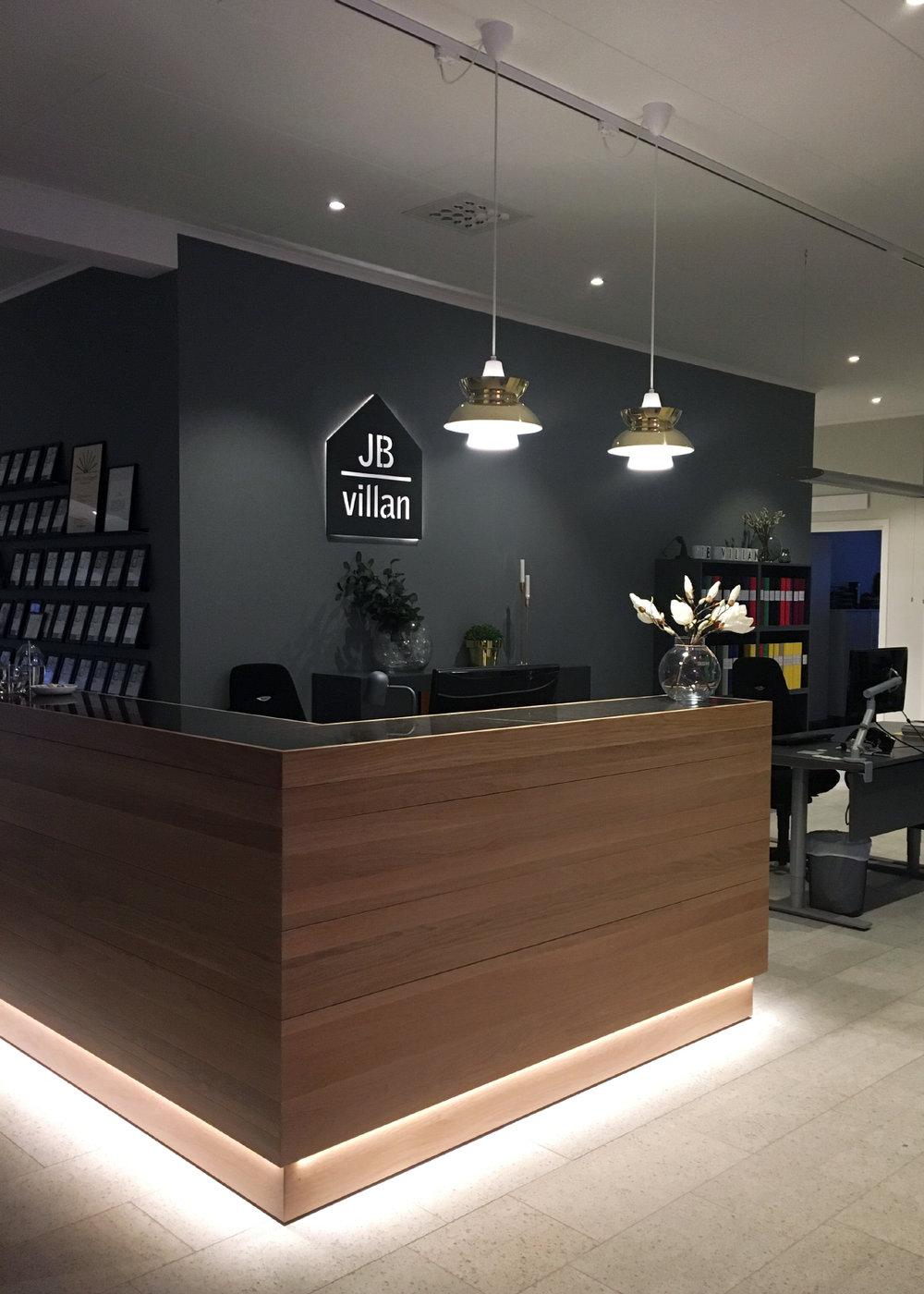 JB Villan har precis flyttat in i nybyggda superfina lokaler!