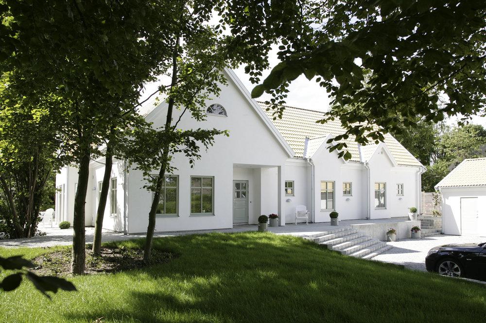 Vit puts är också flott! Foto: pressbild från  Trivselhus , Fotograf Kjell Israelsson.