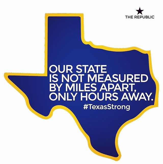 In the face of historic catastrophe, we are seeing the heart of Texas. It is deep, it is wide and it is strong.  To all the first responders and the good Texans showing the courage to be good neighbors: Thank you. #TexasStrong #HoustonStrong #prayfortexas